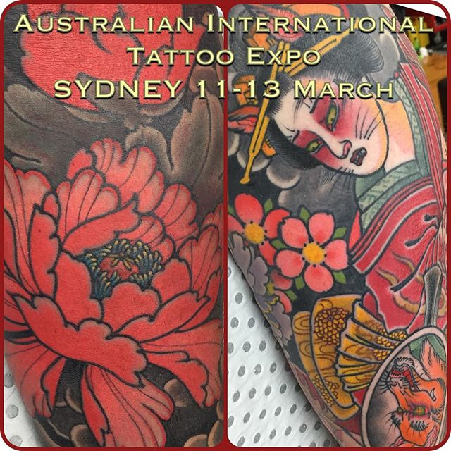 I will be at the upcoming Sydney International Tattoo Expo, 11-13 March at the Royal Hall of Industries, Moore Park. Space for one walk up on the Friday 11th. w: lighthousetattoo.com.au e: contact@lighthousetattoo.com.au ph: (+61 2) 9316 4565 @austattooexpo