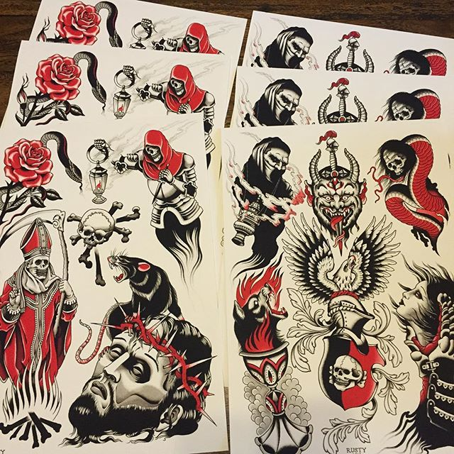 I have these prints ready to go. 42cm x 21cm on 320gsm giclee $30 + $9 postage (up to 6 prints for same postage) Send enquiries to... mail@alexrusty.com