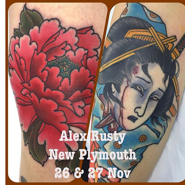 I will be working at the NZ Tattoo Festival @nztattoofestival in New Plymouth with some of the crew from @lighthouse_tattoo Currently taking bookings for the convention. Hit me up via the email below... mail@alexrusty.com w: lighthousetattoo.com.au ph: (+61 2) 9316 4565