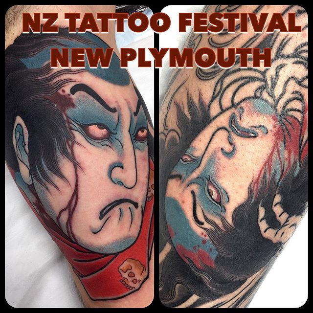 I'm currently taking bookings for the @nztattoofestival in New Plymouth 26th & 27th November For enquiries....  mail@alexrusty.com